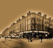 Byres Road at Highburgh Road by illman