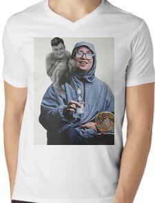 his eternal naked companion Mens V-Neck T-Shirt