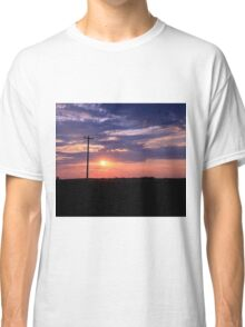 Alberta sunset Classic T-Shirt
