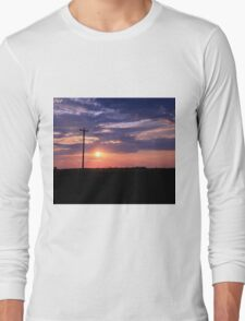 Alberta sunset Long Sleeve T-Shirt
