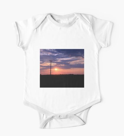 Alberta sunset One Piece - Short Sleeve