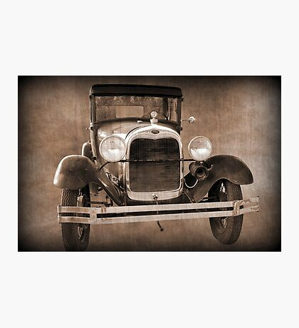 1928 Ford Model A Coupe Photographic Print