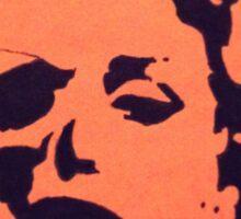 Two face Marilyn  Sticker
