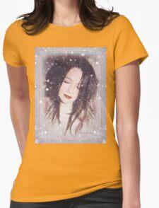 My snowy wonderland Womens Fitted T-Shirt