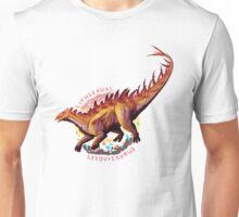 Lithsexual Lexovisaurus (with text)  Unisex T-Shirt