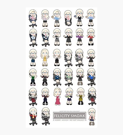 Felicity Smoak - Season 1 Photographic Print