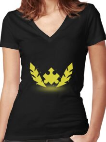 Golden Wonders Women's Fitted V-Neck T-Shirt
