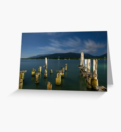 Moonlight in Paradise Greeting Card