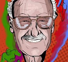 Stan Lee by CrowleyPants