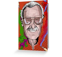 Stan Lee Greeting Card