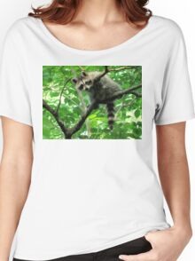 Yeah, I'm just hangin' out. Whatchu doin'? Women's Relaxed Fit T-Shirt