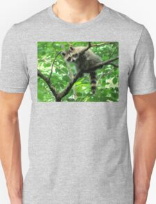 Yeah, I'm just hangin' out. Whatchu doin'? Unisex T-Shirt