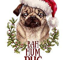 Bah Hum Pug by Melissa-Anne Steben