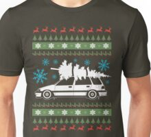 Xmas tree wagon  Unisex T-Shirt