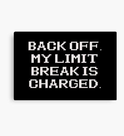 RPG - Limit Break Canvas Print