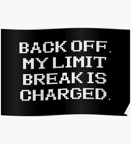 RPG - Limit Break Poster