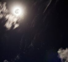 Hawaii Photography Sikspix Full Moon by Tommy Grofcsik