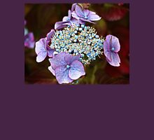 Hydrangea in Transition Womens Fitted T-Shirt