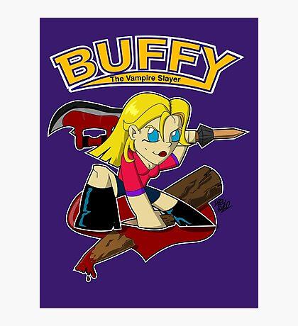 Buffy Photographic Print
