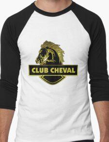 Club Cheval  Men's Baseball ¾ T-Shirt