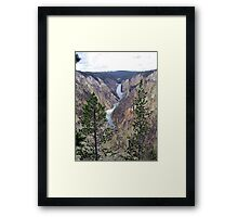 Painted Canyon Framed Print