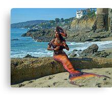 Dangerous Mermaid Canvas Print