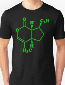 Catnip Nepetalactone Molecular Chemical Formula Unisex T-Shirt