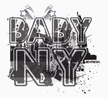 BABY NY!!!!!  One Piece - Short Sleeve