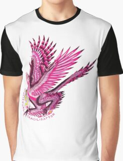 Gynesexual Graciliraptor (with text)  Graphic T-Shirt