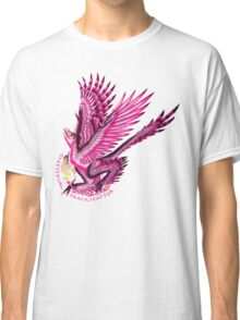 Gynesexual Graciliraptor (with text)  Classic T-Shirt