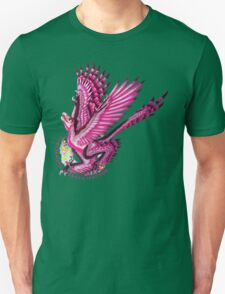 Gynesexual Graciliraptor (with text)  T-Shirt