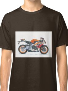 Illustrated Graphic Tee -  Honda Repsol Motorcycle Classic T-Shirt