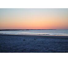 Beach Sunrise- RI Photographic Print