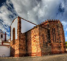 Silves Cathedral by manateevoyager