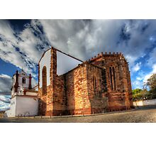 Silves Cathedral Photographic Print