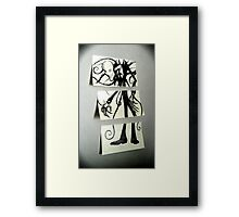 Sticky Slender Framed Print