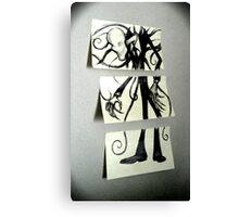 Sticky Slender Canvas Print