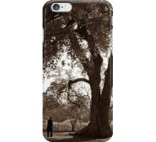 Lincoln & The Osage Orange Tree iPhone Case/Skin