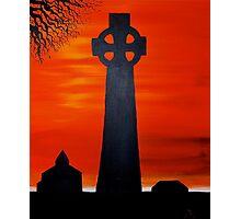 Celtic Sunset Photographic Print