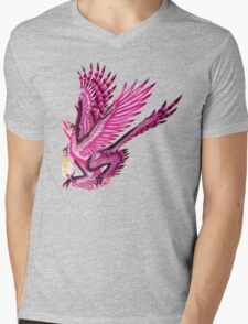 Graciliraptor (without text)  Mens V-Neck T-Shirt