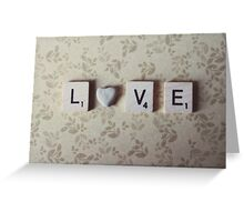 rock love Greeting Card