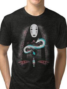 Chihiros's Adventures Tri-blend T-Shirt