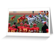Go Team Go! Greeting Card