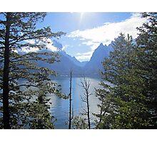Peek-a-lake Photographic Print