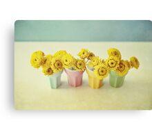joyfull pastel Canvas Print