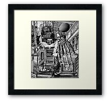 Visit From the Doctor. Framed Print