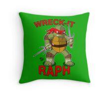 Wreck-It Raph Throw Pillow