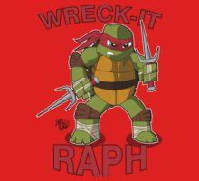 Wreck-It Raph Baby Tee