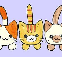 Three Cute Kittens by harrisrose
