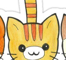 Three Cute Kittens Sticker